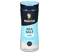 Morton Sea Salt Mediterranean Fine - 17.6 Oz