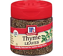 McCormick Thyme Leaves - 0.37 Oz