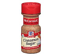 McCormick Cinnamon Sugar - 3.62 Oz