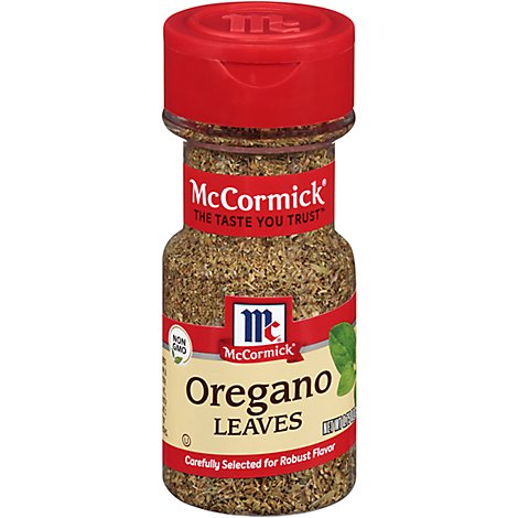 McCormick Oregano Leaves - 0.75 Oz