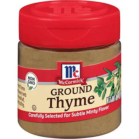 McCormick Thyme Ground - 0.7 Oz