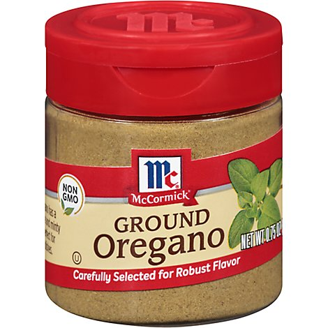 McCormick Oregano Ground - 0.75 Oz