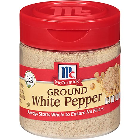 McCormick Pepper White Pepper Ground - 1 Oz