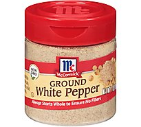 McCormick Pepper White Ground - 1 Oz