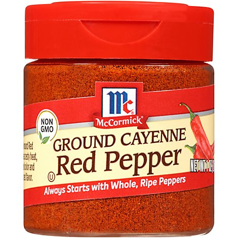 McCormick Red Pepper Ground Cayenne - 1 Oz