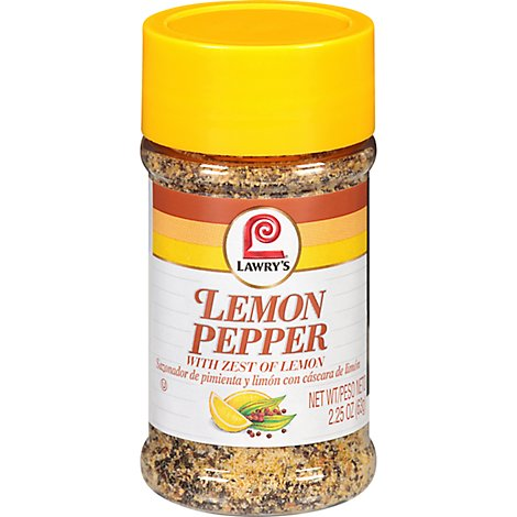 Lawrys Lemon Pepper - 2.25 Oz