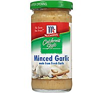 McCormick California Style Garlic Minced - 4.25 Oz