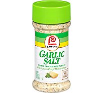Lawrys Salt Garlic Coarse Ground With Parsley - 6 Oz