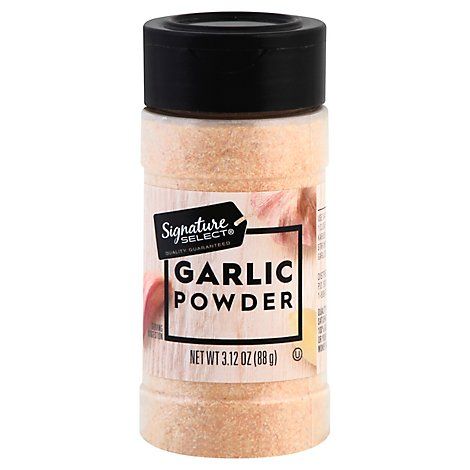 Signature SELECT Garlic Powder - 3.12 Oz