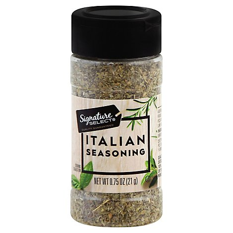 Signature SELECT Seasoning Italian - 0.75 Oz