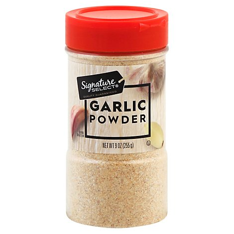 Signature SELECT Garlic Powder - 9 Oz