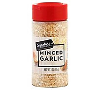 Signature SELECT Garlic Minced - 3 Oz