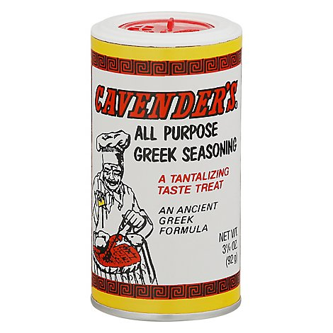 Cavenders Seasoning Greek All Purpose - 3.25 Oz