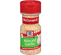 McCormick Garlic Minced - 3 Oz