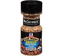McCormick Grill Mates Seasoning Montreal Steak 25% Less Sodium - 3.18 Oz