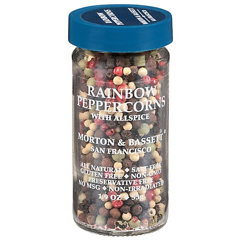 Morton & Bassett Peppercorns Rainbow - 1.9 Oz