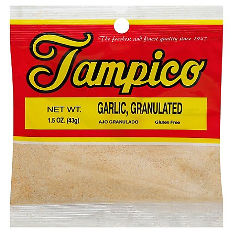 Tampico Garlic Granulated - 1.5 Oz