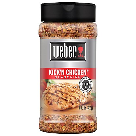Weber Seasoning Kick N Chicken - 5 Oz