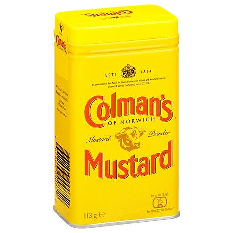 Colmans Mustard Powder Double Superfine - 4 Oz