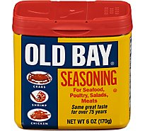 OLD BAY Seasoning  For Seafood Poultry Salads & Meats - 6 Oz