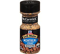 McCormick Grill Mates Seasoning Montreal Steak - 3.4 Oz