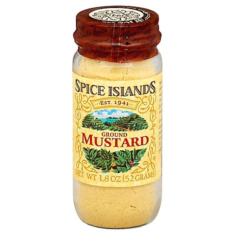 Spice Islands Mustard Ground - 1.8 Oz