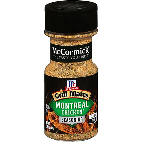 McCormick Grill Mates Seasoning Montreal Chicken - 2.75 Oz