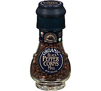 Drogheria & Alimentari Organic Peppercorns Mill Black - 1.58 Oz