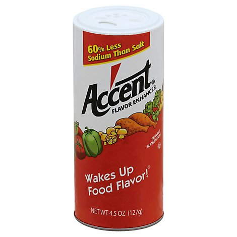 Accent Flavor Enhancer - 4.5 Oz