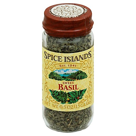 Spice Islands Basil Sweet - 0.5 Oz