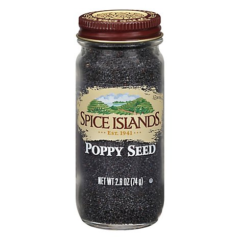 Spice Islands Poppy Seed - 2.6 Oz