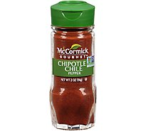 McCormick Gourmet Organic Chile Pepper Chipotle - 2 Oz