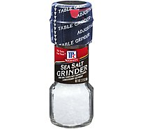 McCormick Sea Salt Grinder - 2.12 Oz