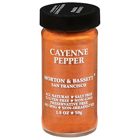 Morton & Bassett Cayenne Pepper - 1.8 Oz