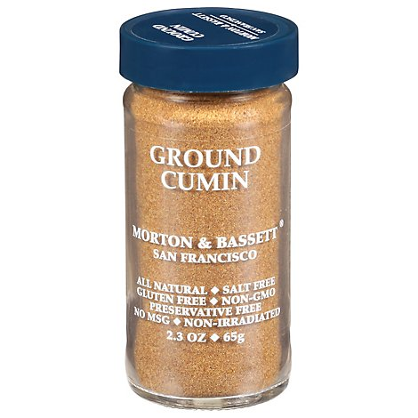 Morton & Bassett Cumin Ground - 2.3 Oz