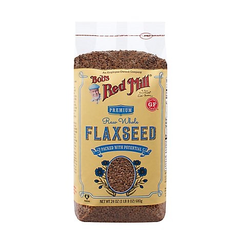 Bobs Red Mill Seeds Flax Seeds - 24 Oz