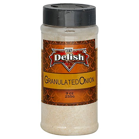 Its Delish Onion Granulated - 9 Oz