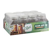 Ball Jars Wide Mouth Quart - 12 Count