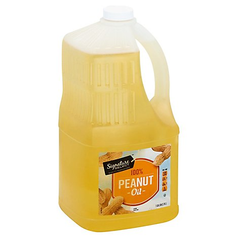 Signature SELECT Oil Peanut Pure - 128 Fl. Oz.