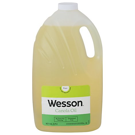 Wesson Canola Oil - 128 Fl. Oz.