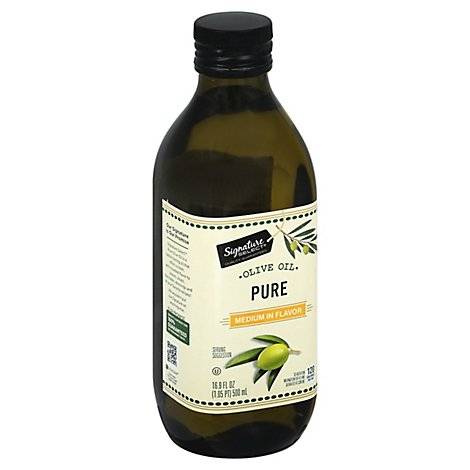Signature SELECT Oil Olive Pure - 16.9 Fl. Oz.