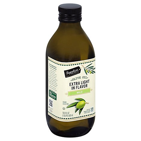Signature SELECT Oil Olive Extra Light in Flavor - 16.9 Fl. Oz.