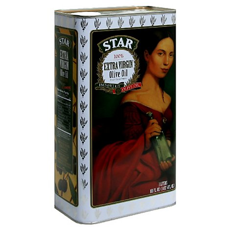 Star Olive Oil Extra Virgin Bottle - 101 Fl. Oz.
