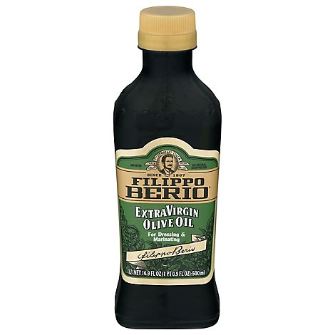 Filippo Berio Olive Oil Extra Virgin For Dressing & Marinating - 16.9 Fl. Oz.