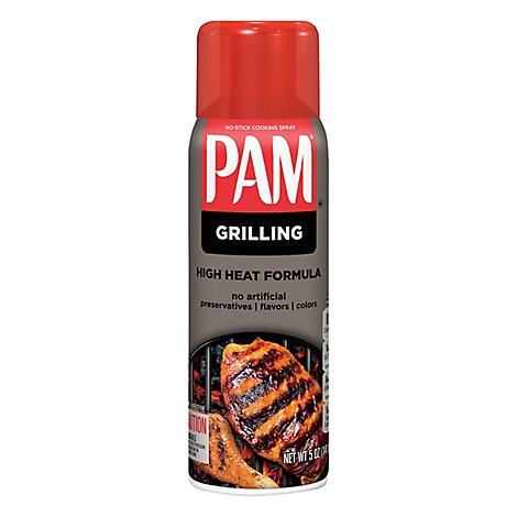 PAM Cooking Spray Vegetable Oil Grilling - 5 Oz