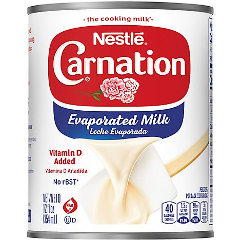 Carnation Evaporated Milk Vitamin D Added - 12 Fl. Oz.