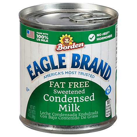Eagle Brand Sweetened Fat Free Condensed Milk - 14 Oz