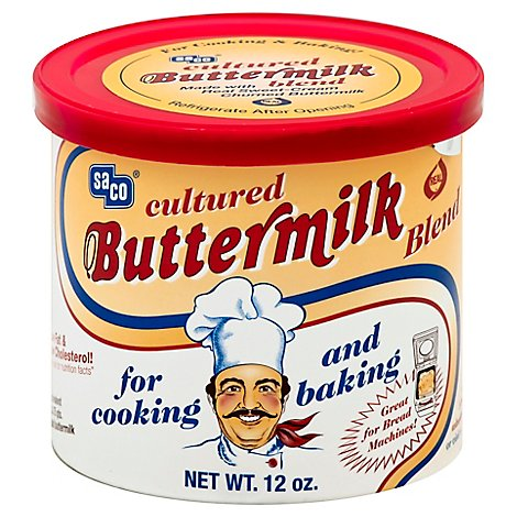 saco Buttermilk Blend Cultured For Cooking And Baking - 12 Oz