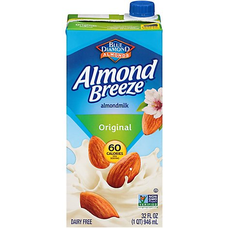 Blue Diamond Almond Breeze Almondmilk Original - 32 Fl. Oz.