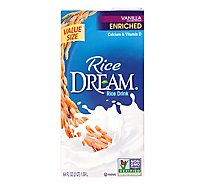 Rice Dream Rice Drink Enriched Vanilla - 64 Fl. Oz.